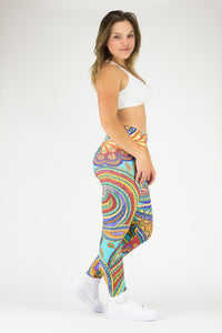 Legging Full Length Crazy Print - Amni, Marrakesh