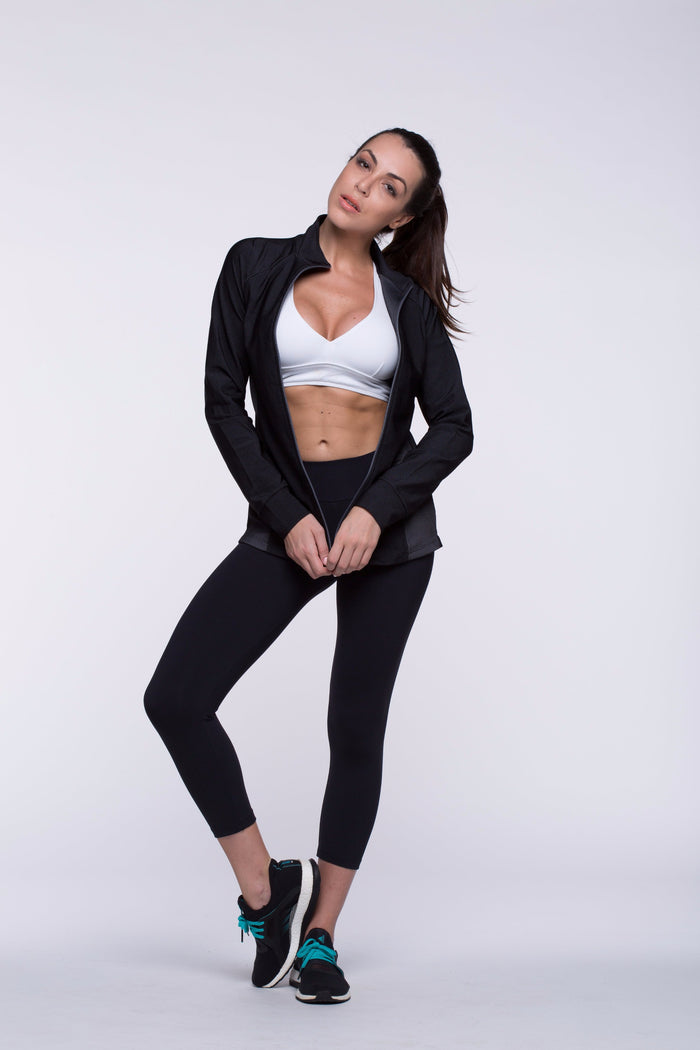 Jacket Lais - Speed, Black and Gray