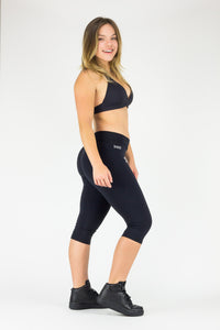 Legging Under Knee Harbour - Supplex, Black