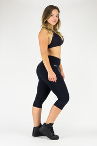 Legging Under Knee Xingu - Emana® Anti-Cellulite, Black