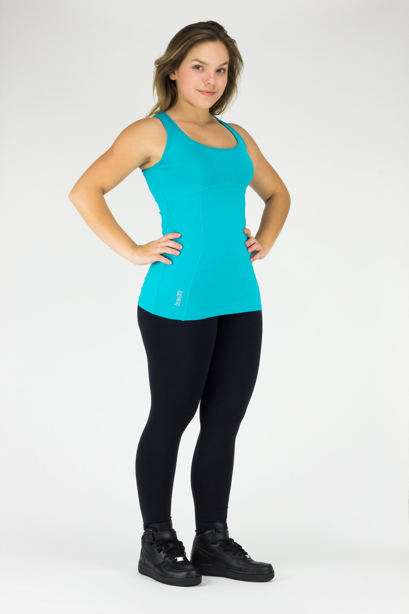 Singlet Chloe - Supplex, Turquoise