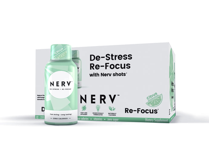Nerv Shots - Buy 48 Get 24 Free - LIMITED TIME OFFER