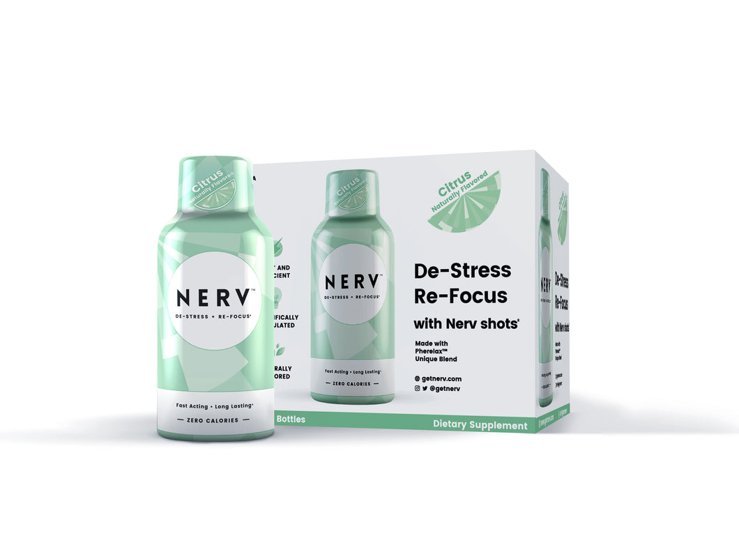 Nerv Shots - Buy 12 Get 6 Free - LIMITED TIME OFFER