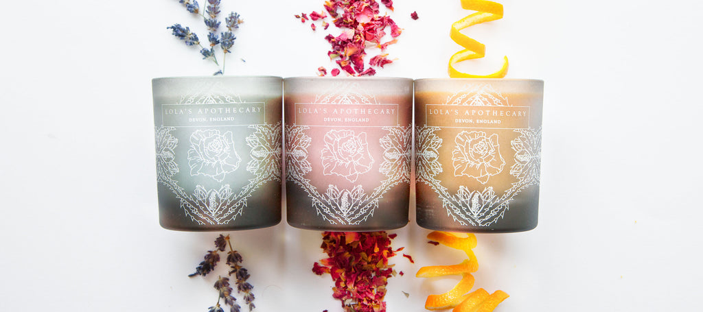Naturally Fragrant Candles
