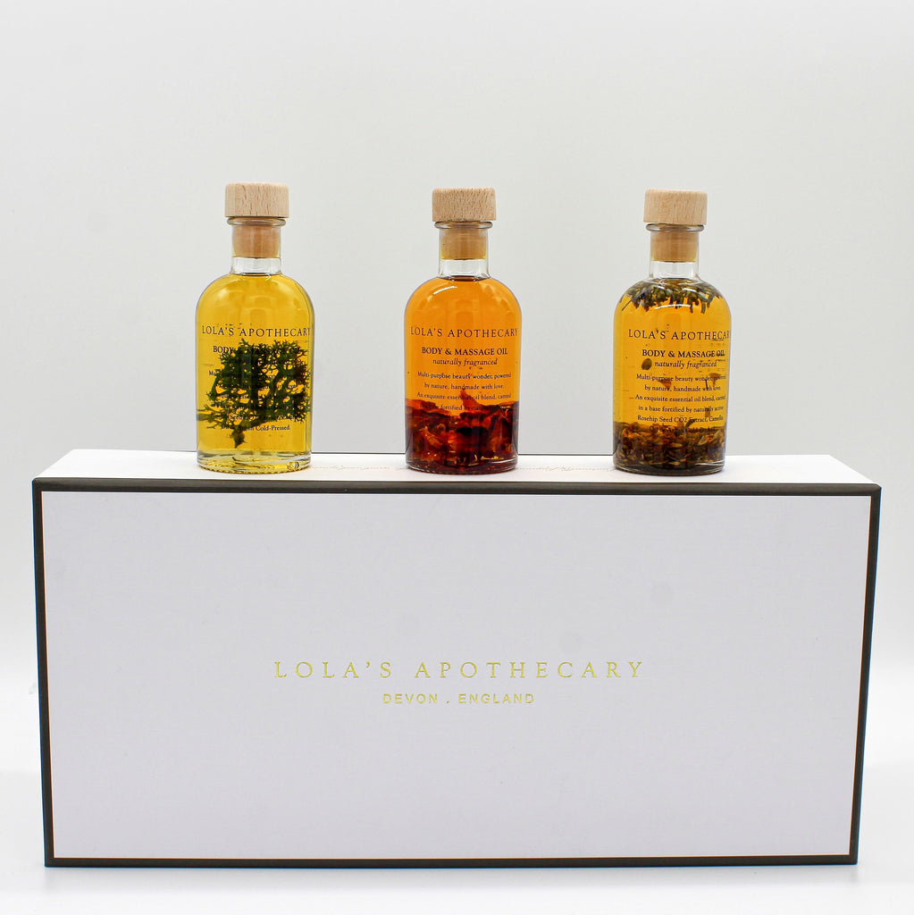 Body & Massage Oil Wellness Trio