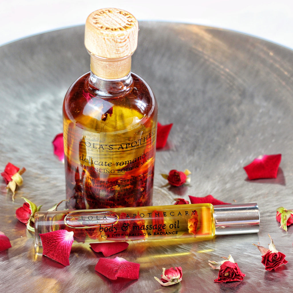 Delicate Romance Balancing Body & Massage Oil