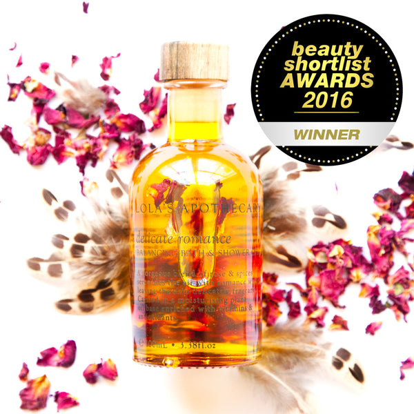 Delicate Romance Balancing Bath & Shower Oil