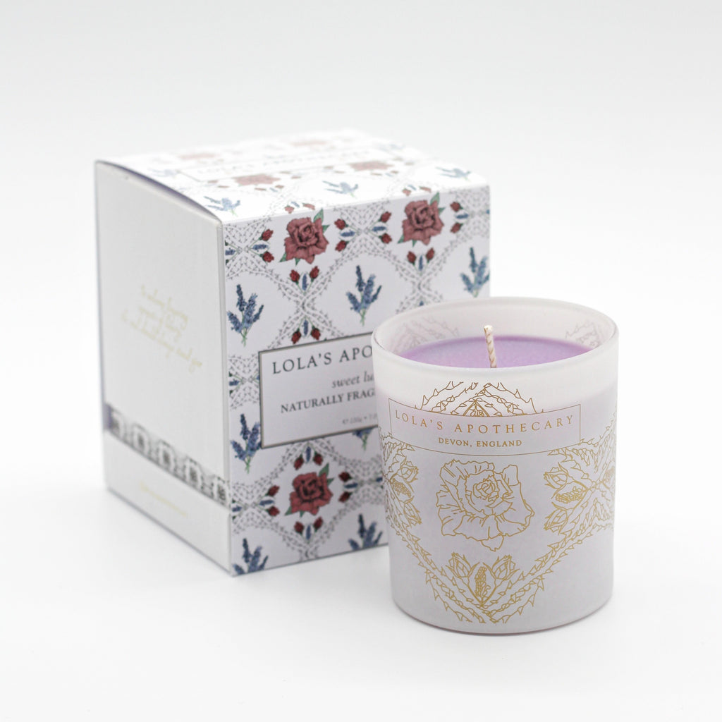 Sweet Lullaby Naturally Fragrant Candle