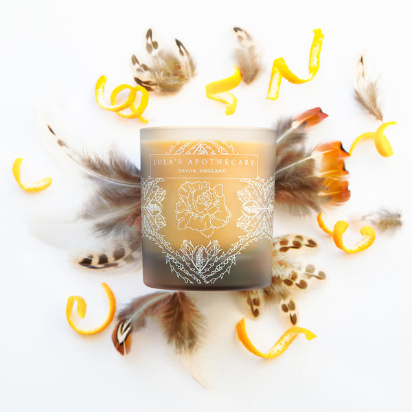 Orange Patisserie Naturally Fragrant Candle