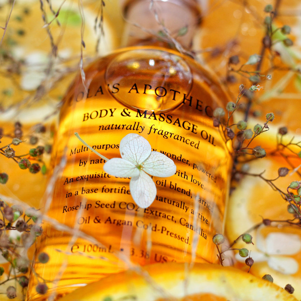 Exclusive Orange Blossom Body & Massage Oil