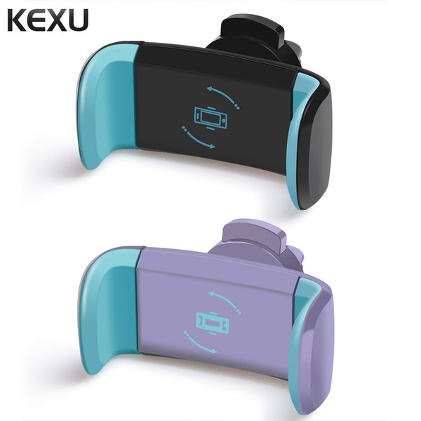 KEXU Car Phone Holder for iPhone 7 6 5S LG Holder Air Vent Mount Car Holder 360 Degree Ratotable Support Mobile Car Phone Stand