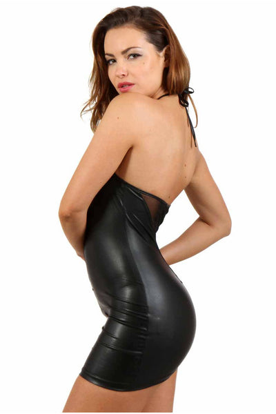 Desirable PVC Dress - PureDiva