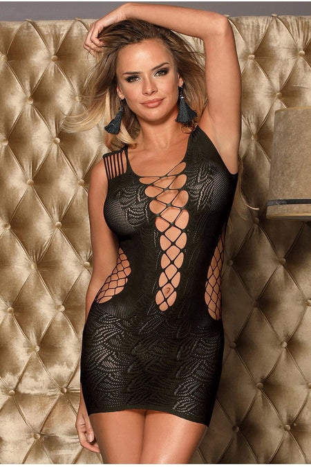 Sexy Fishnet Lace Top bodystockings