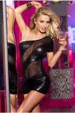 PVC Temptation Dress-Party Dresses-PureDiva