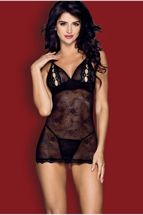 Bow and Pearls Fiorenta Chemise