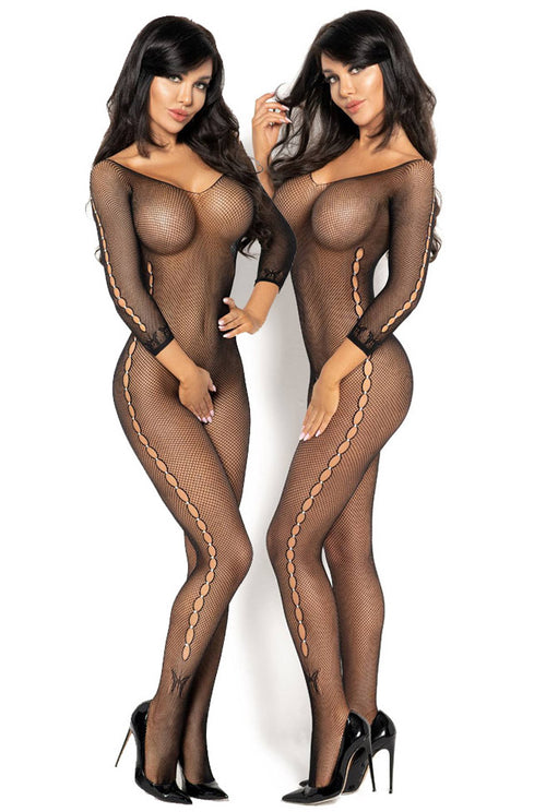 Diamond Martha Bodystockings-Body stockings-PureDiva