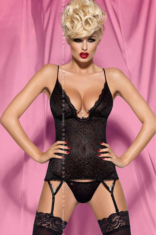 Diamond Corset & Thong - PureDiva