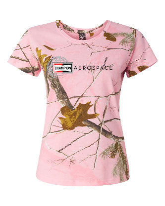 Code Five Women's Realtree Camo Tee #3685