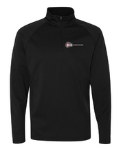 Champion Colorblocked Performance Quarter-Zip Sweatshirt #S230