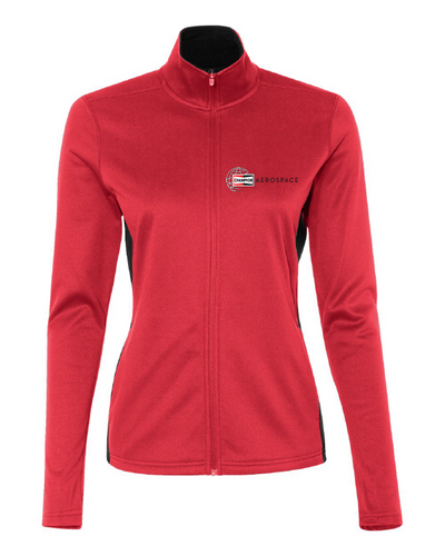 Champion Women's Colorblocked Performance Full-Zip Sweatshirt #S260