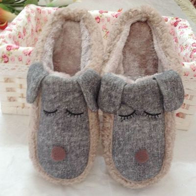 Dog Cotton Pantoufle Minion Slipper