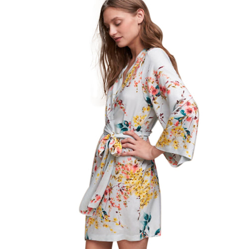 Botanic Garden Robe    Anthropologie