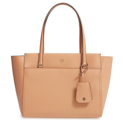 Small Leather Parker Tote - Tory Burch