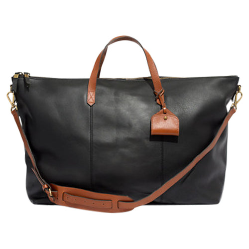Madewell Leather Transport Weekender Bag