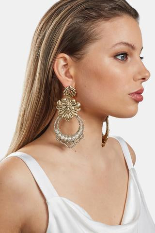 Kitte Playa Pariso Earrings in Gold