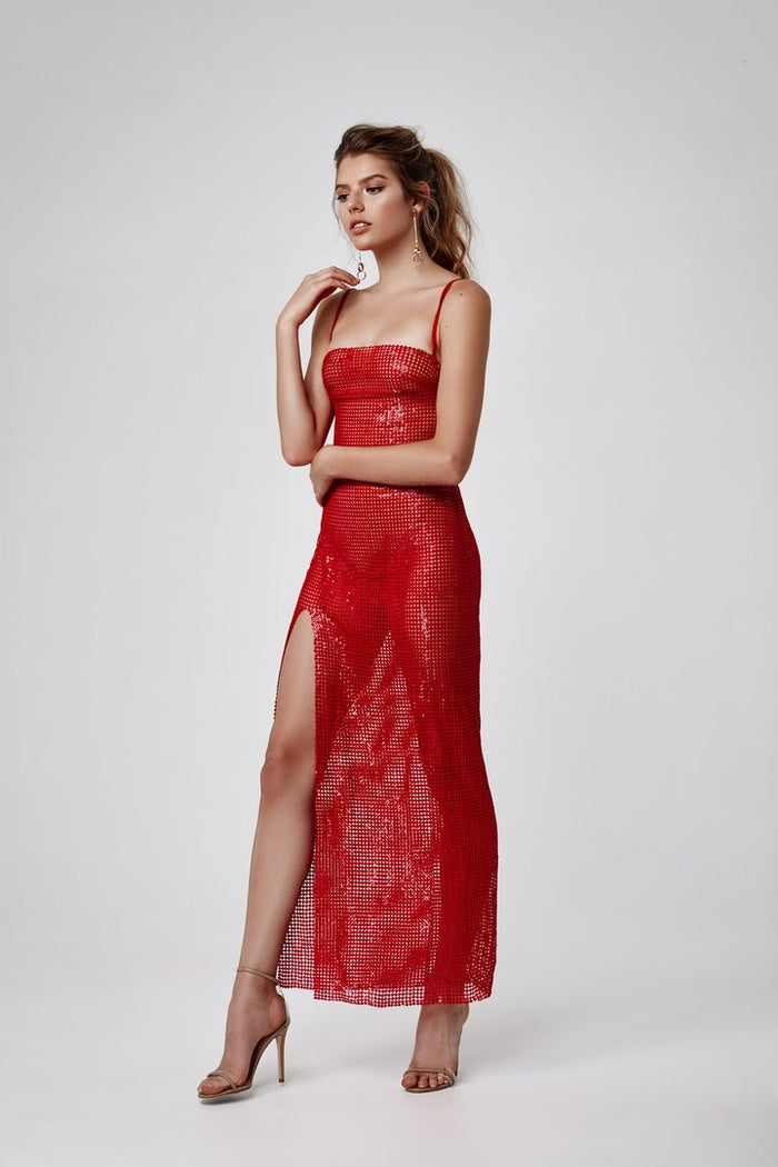 Lexi Nabila Dress | Red