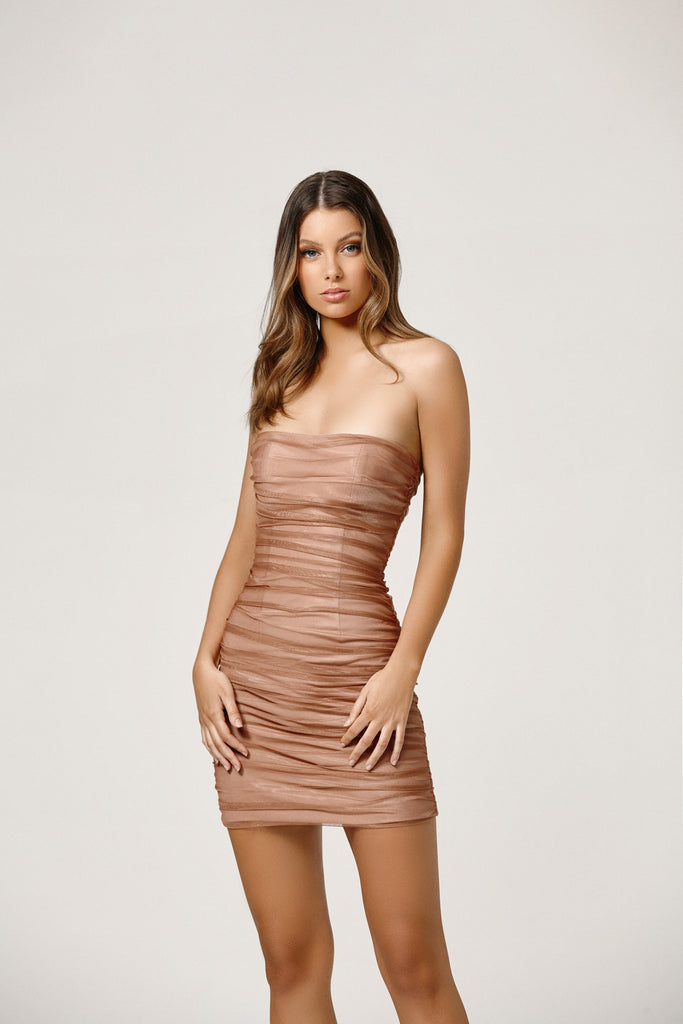 Lexi Kit Dress | Rose Gold