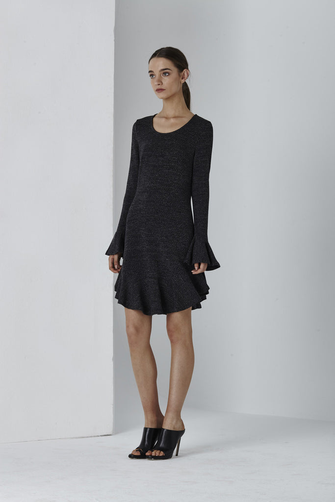 Shilla Devine Mini Frill Dress