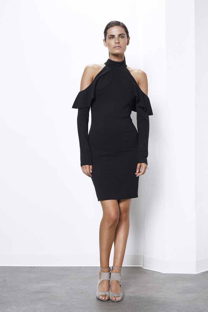 Shilla Prime Drop Slv Bodycon Dress