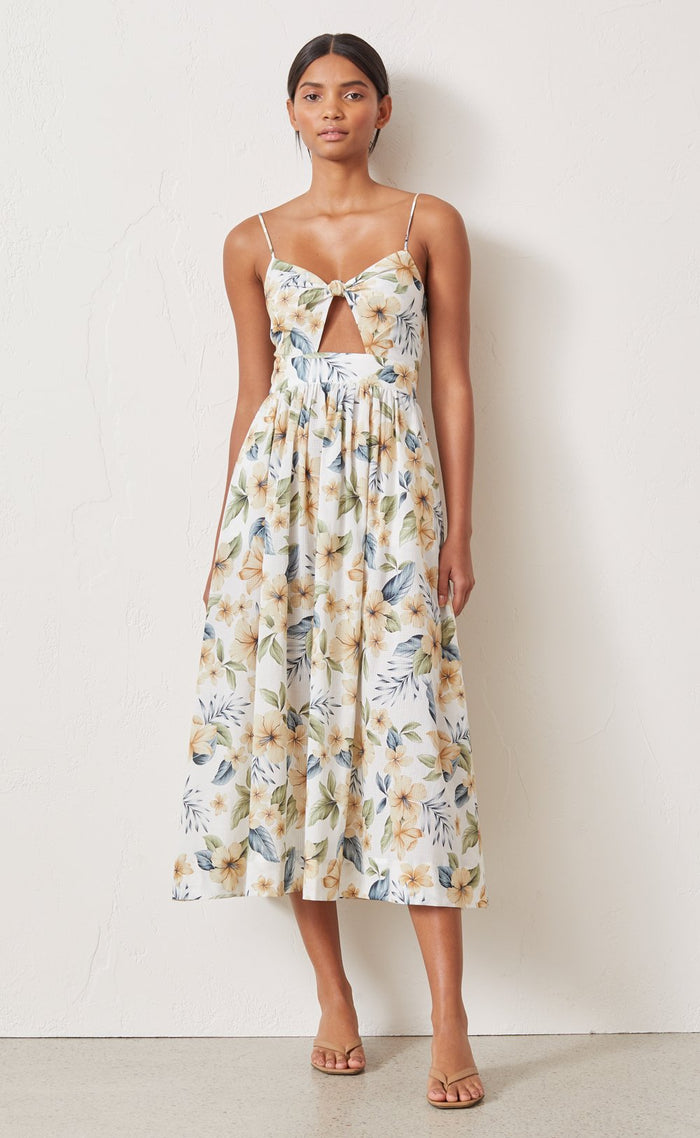 Bec + Bridge Fleurette Midi Dress