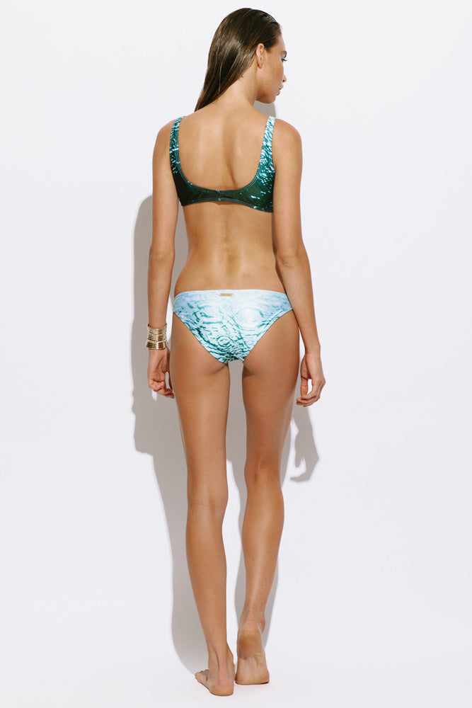 Bondi Bather Hipster Bottom - Aqua