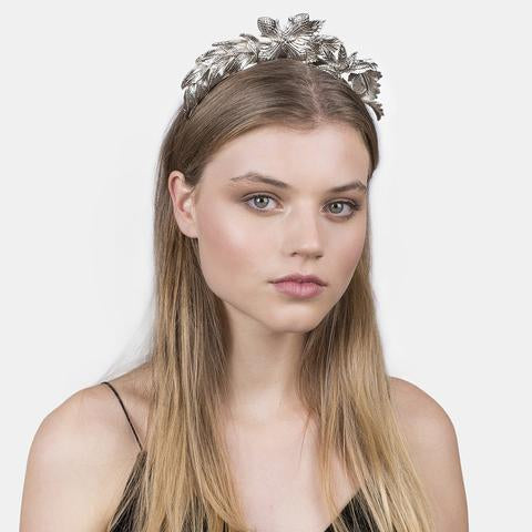 Kitte Jewellery -The Carousel Headband Silver 4 DAY HIRE