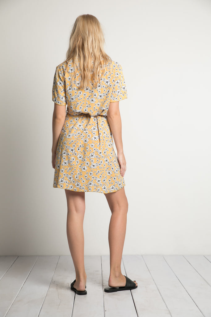Rue Stiic Indiana Mini Dress golden wildflower