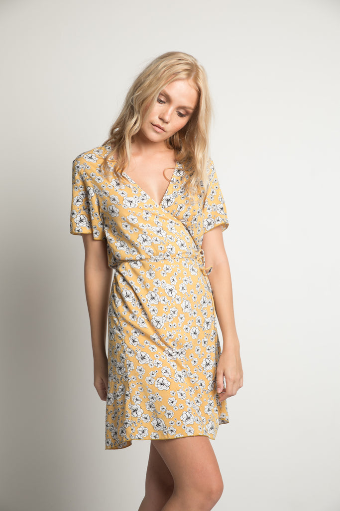 Rue Stiic golden wildflower dress