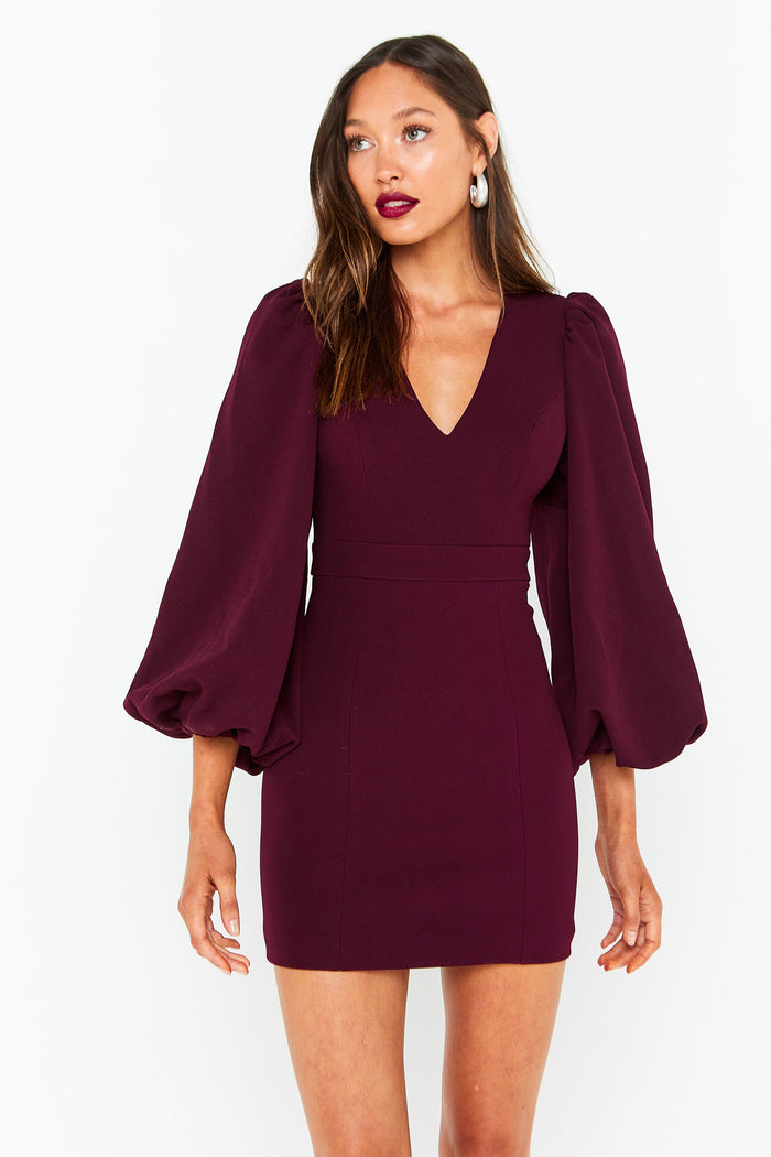 Mossman See You Again Dress | Wine