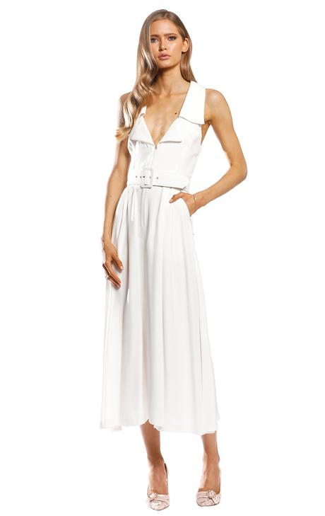Pasduchas High Society Midi Dress-