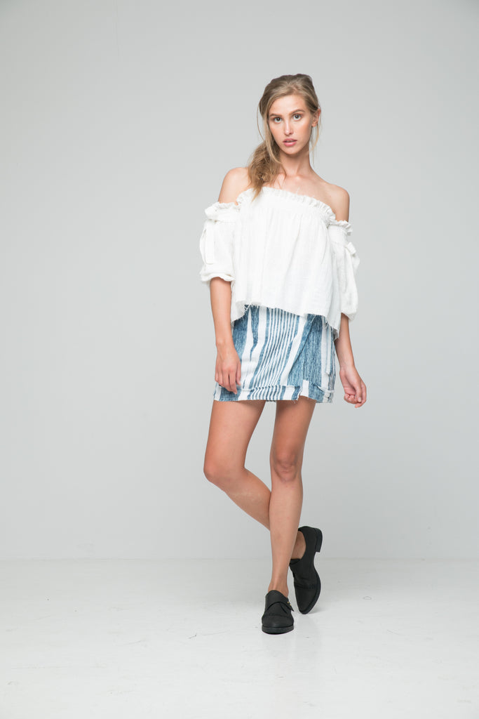 Rue Stiic Rio Top in White