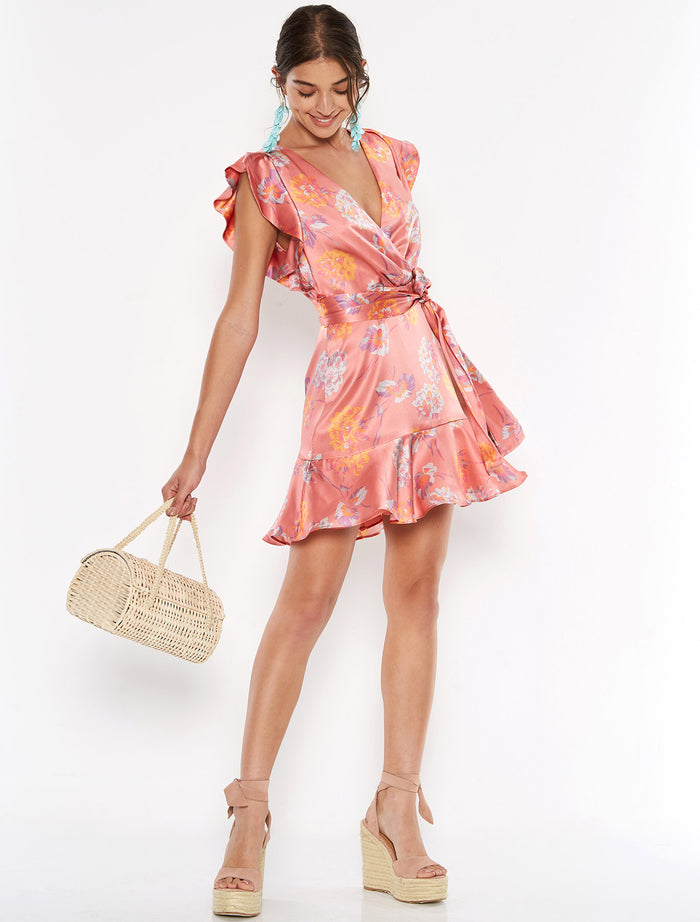 Talulah Clementine Mini Dress-