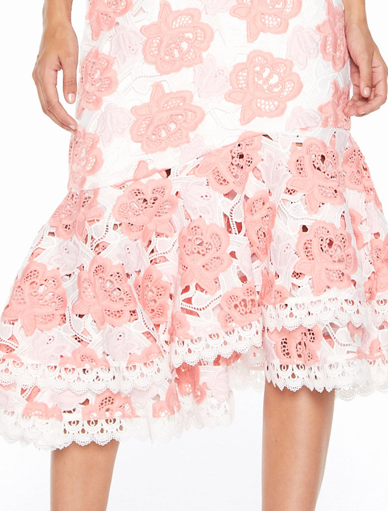Talulah Pure Luck Ruffle Midi Dress