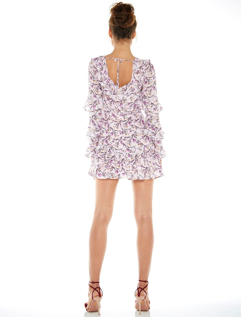 Taluah In Bloom Mini Dress