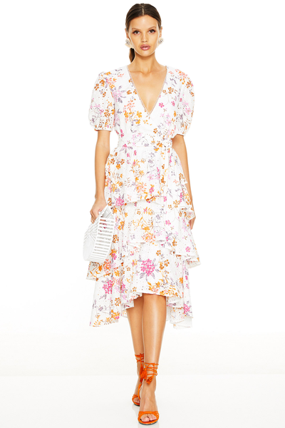Talulah Jasmine Vines Midi Dress
