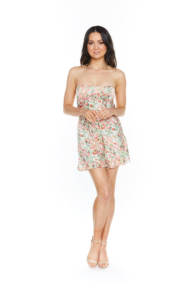 Bec & Bridge Camellia Delights Mini Dress