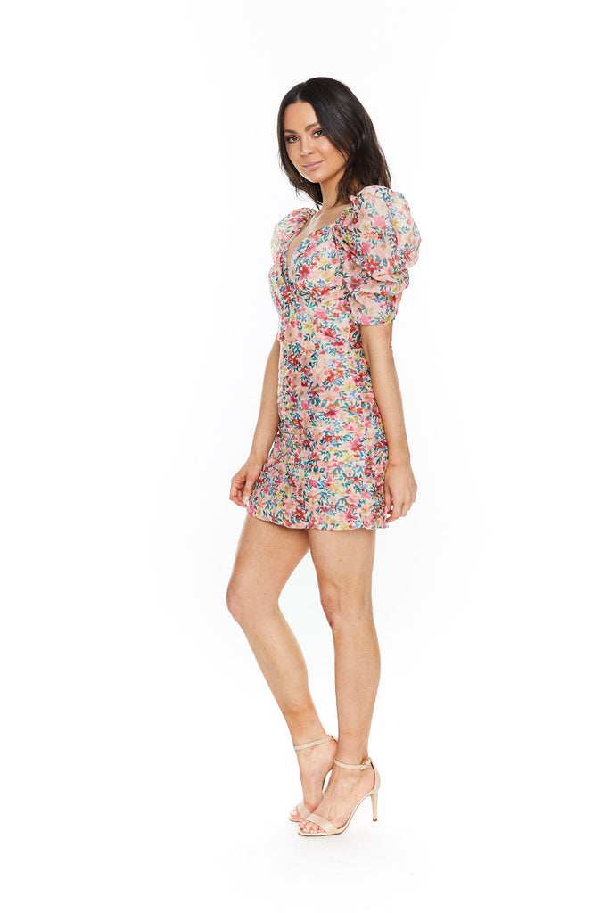 C/MEO Collective And Ever More Short Sleeve Dress