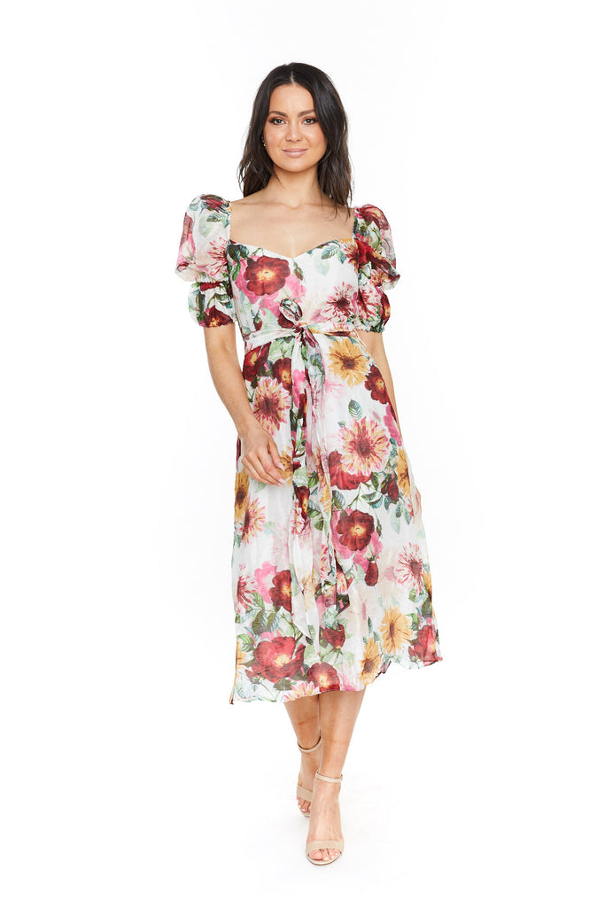 Talulah Garland Midi Dress
