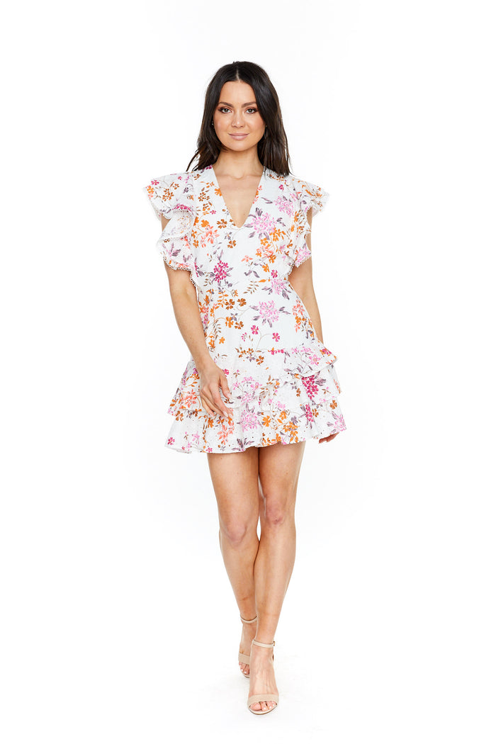 Talulah Jasmine Vines Mini Dress