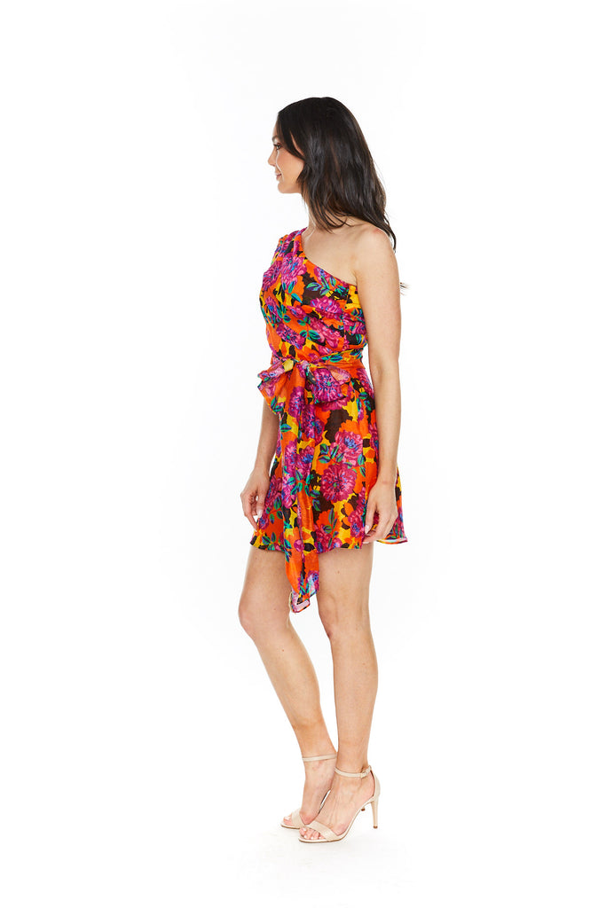 Talulah Blossom Mini Dress-